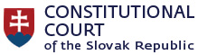 The Constitutional Court of the Slovak Republic