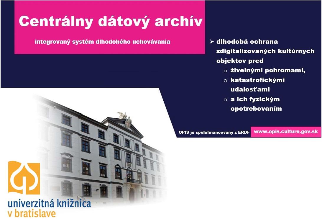 Centrálny dátový archív